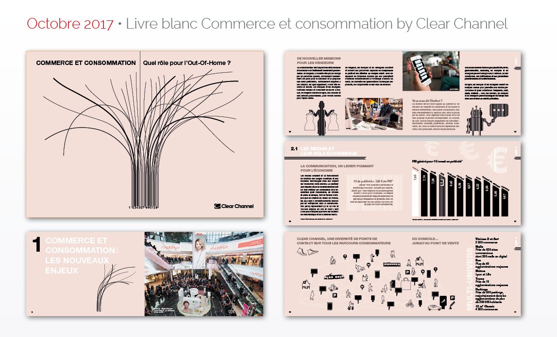 Octobre 2017 • Livre blanc Commerce et consommation by Clear Channel